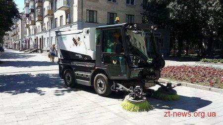 Комунальники придбають нову техніку для прибирання вулиць Житомира