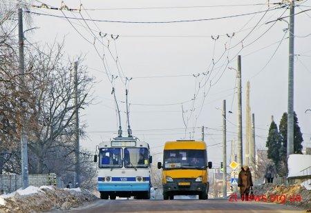 26 вересня громадський транспорт у Житомирі курсуватиме за зміненими маршрутами
