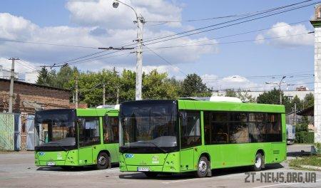 Комунальні автобуси ТТУ виїхали на маршрути №3 та №3А