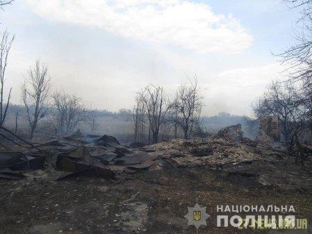 У Романівському районі поліція розслідує обставини масштабної пожежі