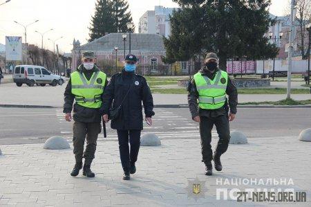 Бердичів патрулюють посилені наряди поліції та нацвардійців