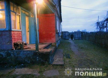 На Житомирщині двоє чоловіків увірвалися в будинок і вбили господаря