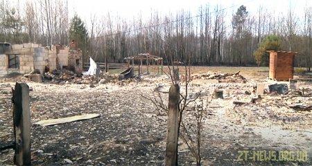 Пів сотні людей внаслідок лісових пожеж залишилися без даху над головою