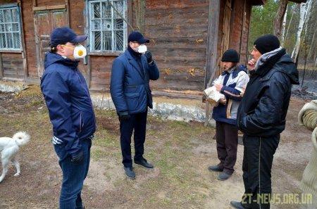 Володимир Федоренко зустрівся з потерпілими від пожеж в Овруцькому районі