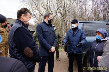 Овруцький район з робочою поїздкою відвідав Міністр розвитку громад та територій України Олексій Чернишов