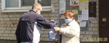 У Житомирі читачам бібліотеки безкоштовно доставляють книги додому