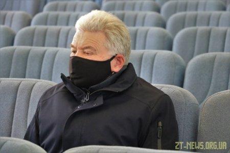 Сергій Сухомлин зустрівся з підприємцями, які вчора мітингували біля міської ради