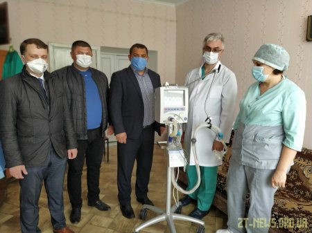Відремонтований ШВЛ повернувся у Чуднівську лікарню