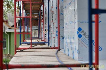Триває ремонт будівлі Житомирської дитячо-юнацької спортивної школи «Авангард»