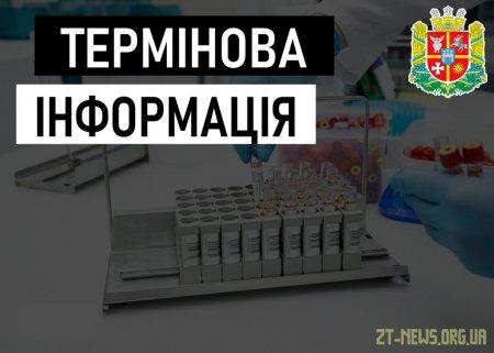 В Житомирській області вже 430 зареєстрованих діагнозів COVID-19