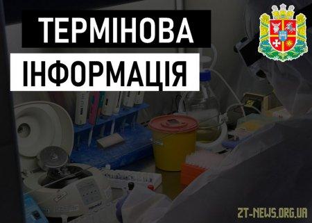 За вихідні на Житомирщині зареєстровано 40 випадків захворювання на коронавірус