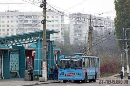 Через ремонт дороги на вулиці Великій Бердичівській відбулися зміни у русі електротранспорту