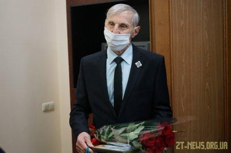 Легендарний житомирський футболіст Томаш Сіцінський відзначає 80-річчя