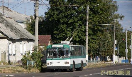 Чотири дні тролейбуси не курсуватимуть в Гідропарк