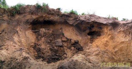 В селі Буки Житомирського району піском привалило 9-річну дівчинку