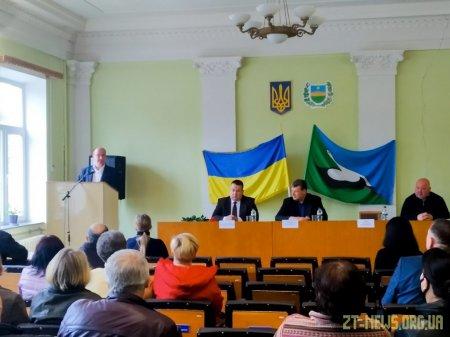 Віталій Бунечко представив нового голову Лугинської РДА