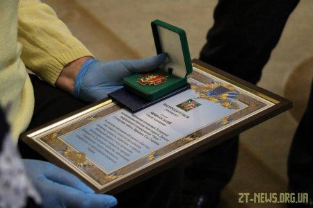 Матері загиблого Героя вручили відзнаку за подвиг сина