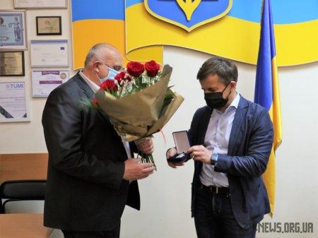 Василя Ганченка нагороджено відзнакою «За заслуги перед містом Житомиром III ступеня»