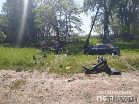 ДТП на Житомирщині, яка забрала життя 4 людей, спровокував інспектор поліції