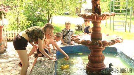 Житомирянин своїми руками облаштував у дворі фонтан
