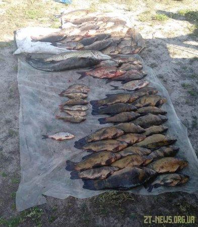 На річці Тетерів виявлено дует браконьєрів