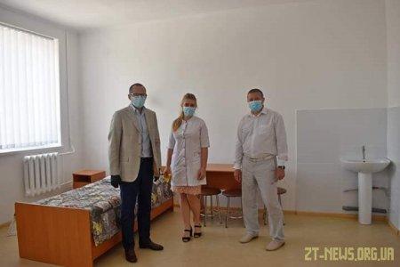 В Овручі відкрили відремонтоване дитяче відділення міської лікарні