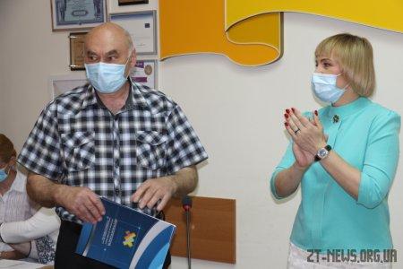 Житомирські медичні працівники отримали вітання напередодні професійного свята