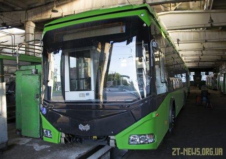 До Житомира вже приїхали 4 з 50 нових тролейбусів