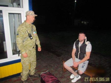 Прикордонники затримали громадянина Молдови, якого розшукують в Швейцарії за спробу вбивства