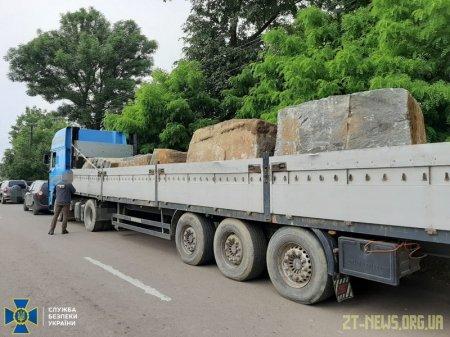 СБУ задокументувала на Житомирщині незаконний видобуток граніту на понад 70 мільйонів гривень