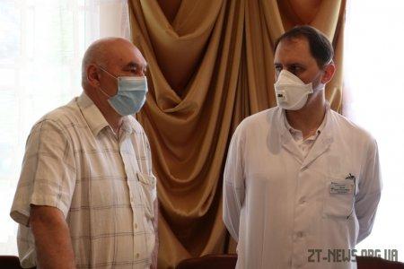 Для житомирських лікарень придбали 4 апарати ШВЛ