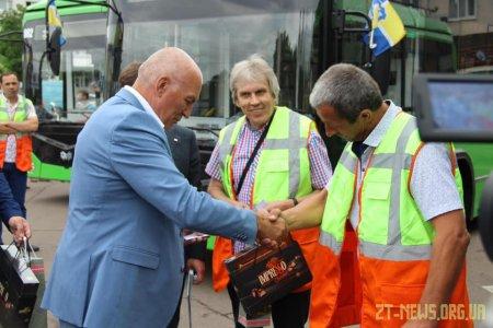 Вже на наступному тижні 5 нових тролейбусів возитимуть житомирян на маршруті №1
