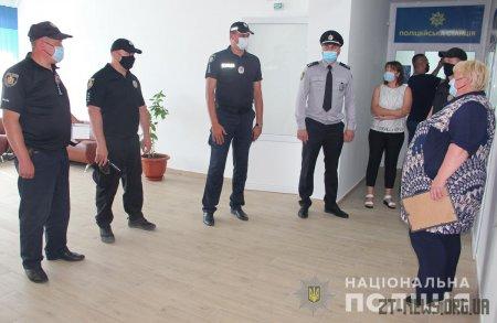 Поліцейська станція запрацювала в Олевському районі Житомирщини