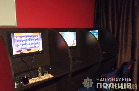 У Житомирі та Олевську правоохоронці викрили нелегальні гральні заклади