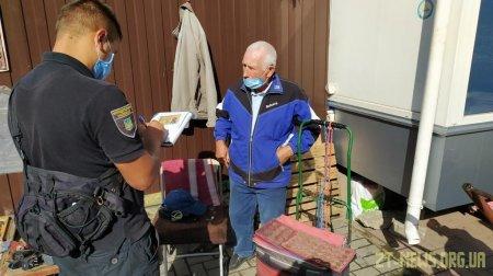З початку року муніципальною інспекцією було виявлено 1121 порушення у сфері благоустрою