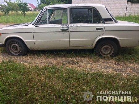 У Житомирській області хлопець угнав ВАЗ, а потім проколов шини і покинув авто