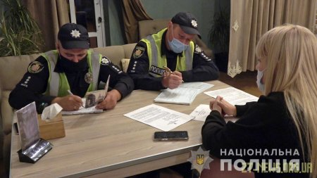 На Житомирщині поліцейські припинили 167 порушень карантинних обмежень