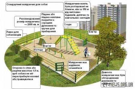 На Бульварі Польському з'явиться майданчик для вигулу та дресирування собак