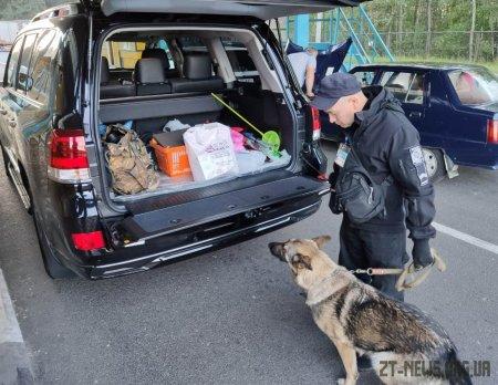 Киянин намагався провести до Білорусі мисливські набої