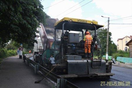 До кінця тижня обіцяють завершити ремонт дороги на вулицях Леха Качинського та Чуднівській