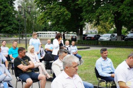 Віталій Бунечко у Коростишеві зустрівся з громадським активом трьох районів