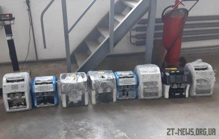 Повертаючись з Білорусі житель Коломиї прихопив із собою 8 апаратів для рахування грошей