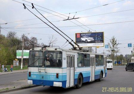 Тролейбусний маршрут №4А продовжили до Паперової фабрики