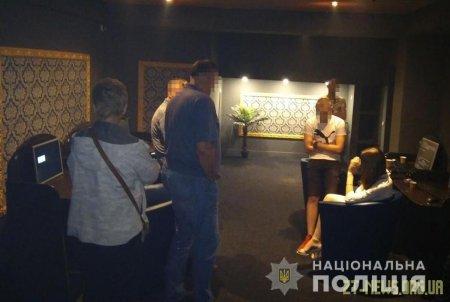 У Житомирі поліцейські припинили роботу двох нічних підпільних ігрових залів