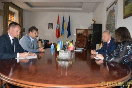 Віталій Бунечко та Алекс Ленартс обговорили шляхи співпраці Житомирської області з Бельгією