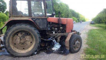 На підприємстві в Бердичівському районі чоловік на тракторі переїхав місцевого жителя