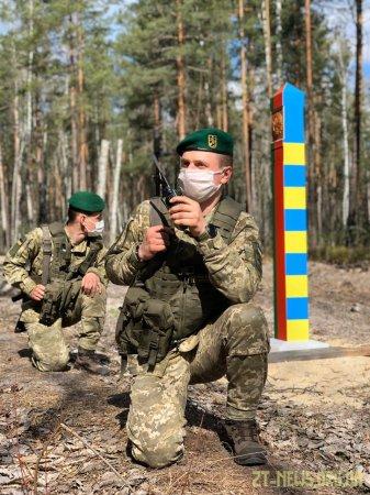 Прикордонники Житомирського загону завадили ягідникам порушити кордон
