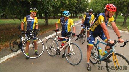 Учасники ветеранського велопробігу відвідали Житомир