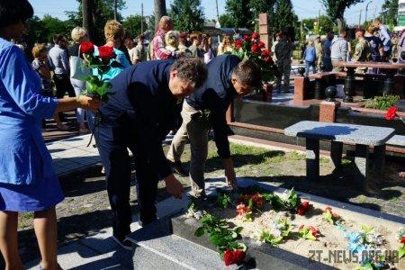У Житомирі вшанували пам'ять захисників України