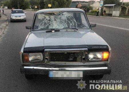 Поблизу Житомира ВАЗ збив жінку